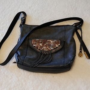 Lucky Brand leather crossbody bag